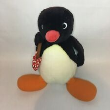PINGU THE PENGUIN - 19cm PLUSH SOFT TOY - GOLDEN BEAR/EDITOY 1991