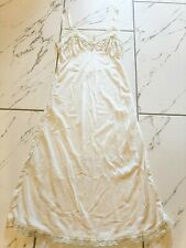 Mel-Lin Lace Slip Night Gown Intimates Ivory XSmall