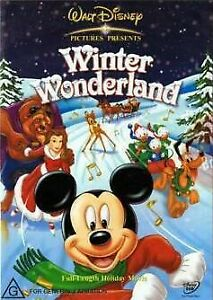 Winter Wonderland : Mickey Mouse : New Old Aus Stock : NEW DVD