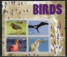 ST. VINCENT GRENADINES  2016  BIRDS SHEET   MINT NH
