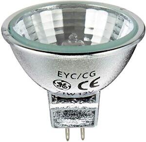 GE 20873 12V 75W 40° Q75MR16C/CG40° EYC/CG MR16 GU5,3 Halogen Lampe Spot