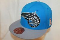 Orlando Magic Fitted Hat Cap The XL Logo 2Tone w/ball by Mitchell & Ness