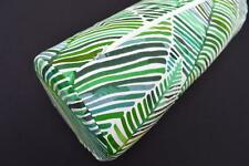 LF813g Green Blue Yellow Brown Cotton Canvas Neck Yoga Bolster Case Pillow Cover