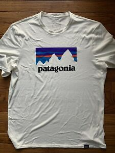 Men's Patagonia Logo Daily Capilene Baselayer Running Shirt Medium