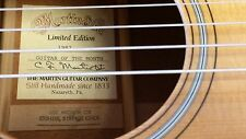 1987 Martin HD-18 Acoustic Guitar LIMITED EDITION Guitar of the Month