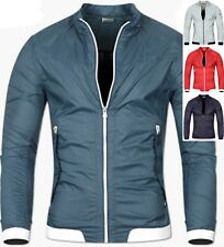 Mens Athletic Stadium Tracksuit Climbing Windbreak Blazer Jacket Jumper Top M013