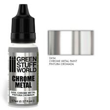 Chrome Paint Valid For Brush And Airbrush Silver Mirror Paint Reflective 40k