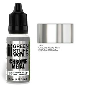 Chrome Paint - valid for Brush and Airbrush - Silver mirror paint reflective 40k