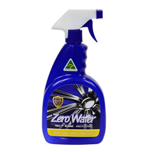 ZERO WATER| WHEEL CLEANER n SHINE AUSTRALIAN  WATERLESS QUICK EASY SPRAY n WIPE