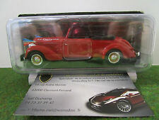 X Citroen 11 Traction Coupe 1/43 Solido 4151 Voiture Miniature Collecti