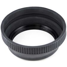 43 mm rétractable Rubber Lens Hood pour Nikon Canon Sony Panasonic etc