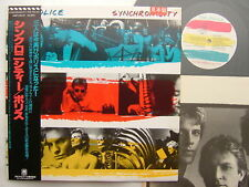 PROMO LABEL THE POLICE SYNCHRONICITY