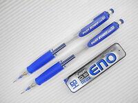 BLUE x2 PILOT 2020 shake 0.5mm mechanical pencil  free Pilot HB pencil leads set