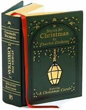 STORIES FOR CHRISTMAS ~ CHARLES DICKENS ~ CHRISTMAS CAROL + 4 ~ CLOTH GIFT ED
