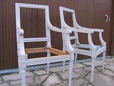 2 carcasses de fauteuils anciens