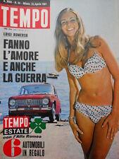 TEMPO n°34 1967 Daniela Bianchi - Paolo e ALberto di Liegi  [C55]