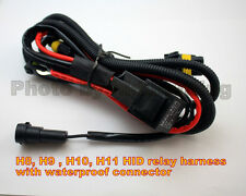 HID 880 881 H8 H9 H10 H11 relay harness with 12V 40A waterproof connector Plug