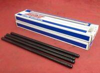 """NEW Set of 8 Elgin Pushrods 5/16"""" Dia .110"""" Wall 210° Tip 8"""" Length / PR-15800S"""