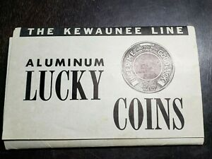 RARE Kewaunee Line Salesman Samples for Advertising Coins, Encased Pennies, etc.