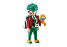 Playmobil City Life Detective con Lupa, Ref 6525, Victoriano, Sherlock Holmes