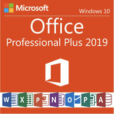Microsoft Office 2019 Professional Plus 32/64 Bit Retail on USB - For 1 PC