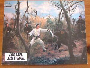 DAVID CHIANG LA RAGE DU TIGRE PHOTO EXPLOITATION 1972 21X 27 CM SHAW BROTHERS