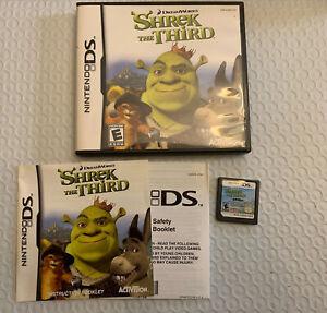 Shrek The Third Nintendo DS Game Dreamworks  Complete