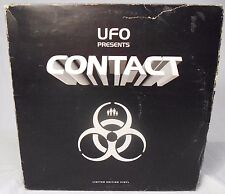UFO Presents CONTACT EP 5-Record Set Ray Keith 1999 Electronica Drums Bass