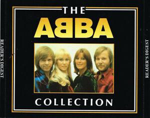 THE ABBA COLLECTION RARE Australian Reader's Digest 1993 4 CD Box Set