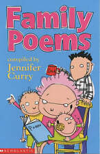 Family Poems, Jennifer Curry, New Book