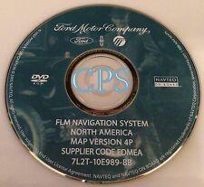 2008 Ford F150 pickup STX XLT FX4 Navigation DVD Map / 7L2T-10E989-BB Ver. 4P
