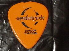 A Perfect Circle Logo Tool Singer Maynard Keenan 2000 Concert Tour Guitar Pick
