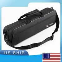 FLUTE CASE COVER - CARRYING BAG BLACK COLOR for C foot flute
