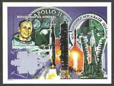 SENEGAL 1999 SPACE APOLLO 11 MOON LANDING NEIL ARMSTRONG M/SHEET MNH