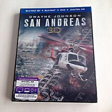 SLIPCOVER LENTICULAR ONLY! San Andreas (No Movie Disc) **READ**