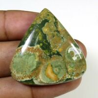 NATURAL RHYOLITE JASPER CABOCHON 48 Cts. HEART LOOSE GEMSTONE 34x34mm RH-01