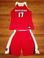 Nike Rutgers Knights Basketball Game Women's M Hyperelite Jersey Shorts 867774