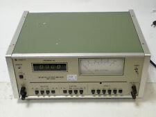 MEGURO MK-668D WOW FLUTTER METER, HIGH SENSITIVITY, 115 or 220V 50/60Hz TESTED!