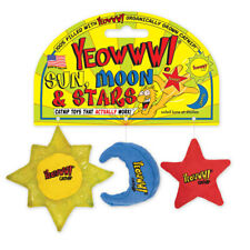 Yeowww! Cat Toys with Pure American Catnip - Sun Moon and Stars