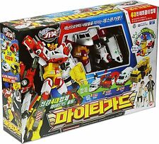 HELLO CARBOT Mighty Guard Transformer Copolymer Robot Tranforming Car Toy Korea