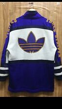 Vintage Adidas Trefoil Big Streetwear Sweatshirt Sz:M -L Japan