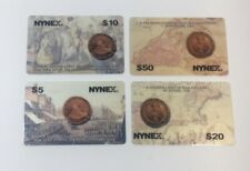 Lot Of 4 Nynex Phone Cards 1995 Limited Edition Unscratched (7255)