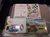 Ancien Guide Pratique Véhicule Utilitaire d'Occasion Camion Camionnette Renault