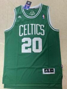 New Ray Allen #20 Boston Celtics Swingman Throwback Jersey Green Size S-XXL