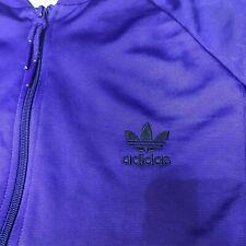 Purple Vintage Retro Limited Edition Adidas Originals Zip Up Tracksuit Jacket