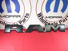Dodge Ram Rebel Matte Black Tailgate R A M Letters Nameplate NEW OEM MOPAR