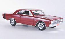 wonderful modelcar DODGE DART GTS 1968 - red  -  scale 1/43 - lim.ed.