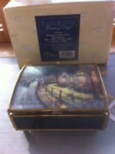 Music Box- Thomas Kinkade Music Box Hometown menorial 1