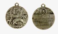 s1328_1) Medaglia Esposizione Nazionale Canina 1932 ( an X ) -  AR Ø 25
