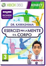 Dr. Kawashima Esercizi Per Mente E Corpo (Kinect) XBOX 360 IT IMPORT NAMCO